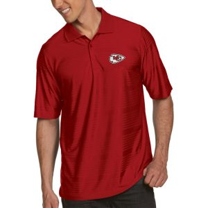 Antigua Kansas City Chiefs Red Illusion Xtra-Lite Polo