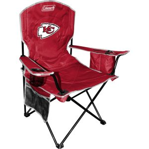 Coleman Kansas City Chiefs Red Cooler Quad Chair
