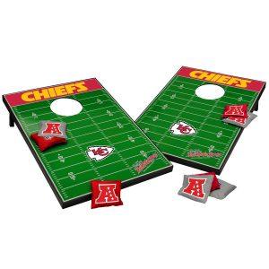 Kansas City Chiefs 2′ x 3′ Cornhole Tailgate Toss Set