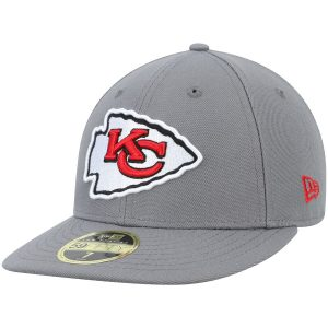 Kansas City Chiefs New Era Storm Low Profile 59FIFTY Fitted Hat