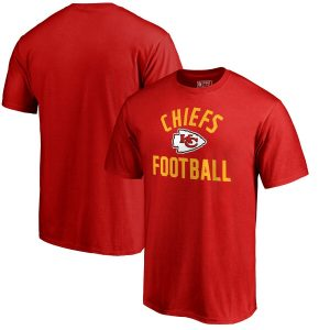 Kansas City Chiefs Red Team Pride T-Shirt
