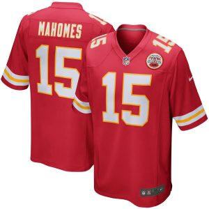 Nike Patrick Mahomes Kansas City Chiefs Red Game Jersey