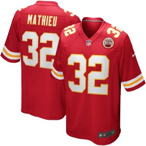 Nike Tyrann Mathieu Kansas City Chiefs Red Game Jersey