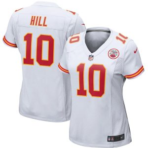 Nike Tyreek Hill Kansas City Chiefs Women's White Game Jersey