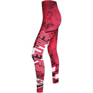 Women's Kansas City Chiefs Concepts Sport Red Topside Leggings