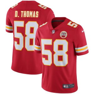 Derrick Thomas Kansas City Chiefs Nike Retired Player Vapor Untouchable Limited Throwback Jersey – Red