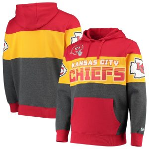 Kansas City Chiefs G-III Sports by Carl Banks Extreme Special Team Pullover Hoodie – Red