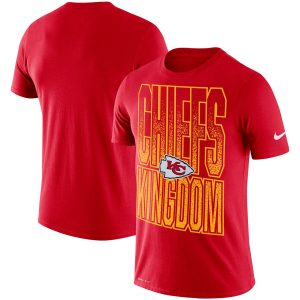 Kansas City Chiefs Nike Local Verbiage Performance T-Shirt – Red