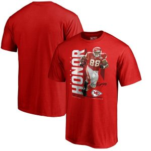 NFL Pro Line by Fanatics Branded Tony Gonzalez Kansas City Chiefs Red Ring of Honor Player Graphic T-Shirt