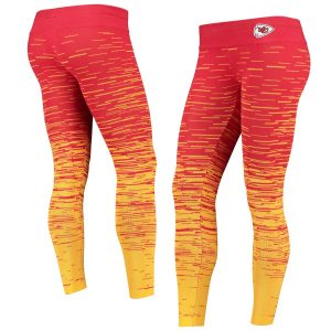 Kansas City Chiefs Women's Static Knit Leggings – Red