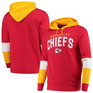 Hands High Kansas City Chiefs Red Record Setter Pullover Hoodie