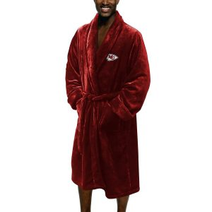 Kansas City Chiefs The Northwest Company Silk Touch Robe – Red