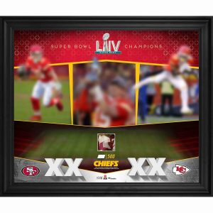 Kansas City Chiefs Fanatics Authentic Framed 20″ x 24″ Super Bowl LIV Champions Photograph with Game-Used Confetti – Limited Edition of 500