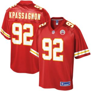 Tanoh Kpassagnon Kansas City Chiefs NFL Pro Line Player Jersey – Red